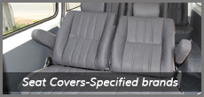 Seat Covers-Specified brands